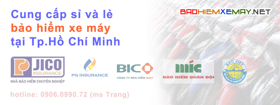 Bảo hiểm xe máy Tp Hồ Chí Minh
